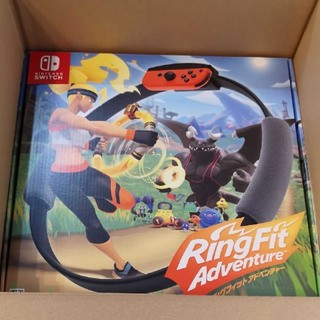 ニンテンドースイッチ(Nintendo Switch)のリングフィットアドベンチャー 新品(家庭用ゲームソフト)