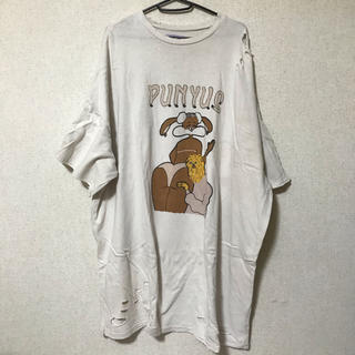 プニュズ(PUNYUS)のPUNYUS プニュズ ビッグトレーナー ビッグシャツ ワンピース(トレーナー/スウェット)