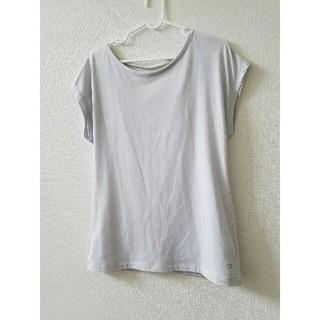 ギャルフィット(GAL FIT)のGAP Fit   ライトグレー レディース Tシャツ(Tシャツ(半袖/袖なし))