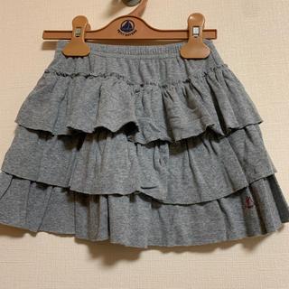 プチバトー(PETIT BATEAU)の【お値下げ】プチバトー☆美品 スカート 6ans 114cm(スカート)