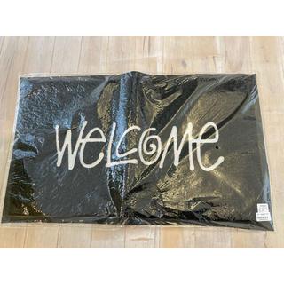 ステューシー(STUSSY)の新品未使用 STUSSY WELCOME MAT ステューシー マット 玄関 (玄関マット)