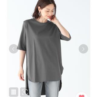 デミルクスビームス(Demi-Luxe BEAMS)のATON ラウンドヘムTシャツ 2枚(Tシャツ(半袖/袖なし))