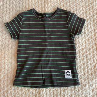 コドモビームス(こどもビームス)の☆min rodini リブボーダーTシャツ 80☆(Tシャツ)