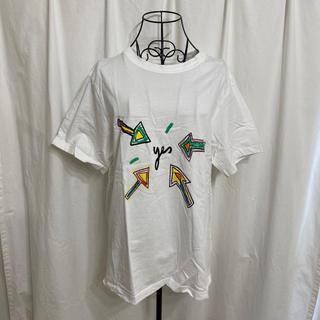 チープマンデー(CHEAP MONDAY)のcheap monday チープマンデー フロントバックプリントTシャツ(Tシャツ(半袖/袖なし))