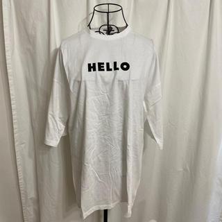 エイソス(asos)のasos ハローグッバイプリントTシャツ(Tシャツ(半袖/袖なし))