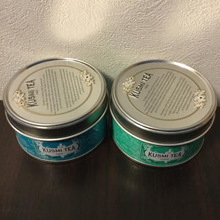 KUSMI TEA Detox &Blue Detox(茶)