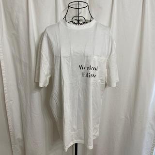 トップマン(TOPMAN)のTOPMAN トップマン フロント胸ポケットプリントTシャツ(Tシャツ/カットソー(半袖/袖なし))