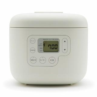 ムジルシリョウヒン(MUJI (無印良品))のしゃもじ置き付き炊飯器・3合MJ‐RC3A(炊飯器)