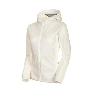 マムート(Mammut)のMAMMUT マムート ストレッチインサーレションジャケット 白 レディースL(登山用品)