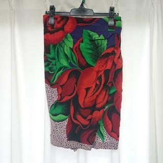 ジャンニヴェルサーチ(Gianni Versace)の70 80s vintage VERSACE ジャンニ ヴェルサーチ スカート(ひざ丈スカート)