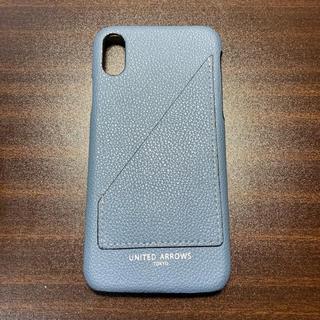 ユナイテッドアローズ(UNITED ARROWS)の ユナイテッドアローズ iPhone X/XS スマホケース カード入れ付き(iPhoneケース)
