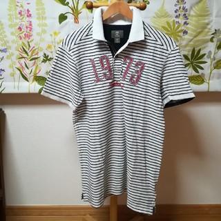 ティンバーランド(Timberland)の✨Timberland ティンバーランド 黒色横縞柄のポロシャツLサイズ(ポロシャツ)