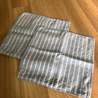 ムジルシリョウヒン(MUJI (無印良品))の無印良品 クッションカバー 2枚セット 43×43(クッションカバー)