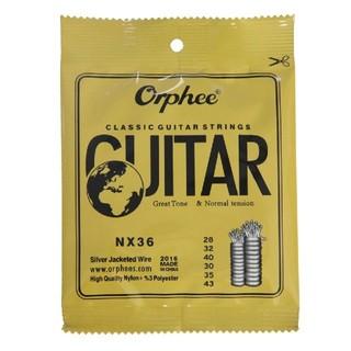 Orphee クラッシックギター弦ノーマルテンション 28-43 1セット(クラシックギター)