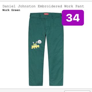 シュプリーム(Supreme)のDaniel Johnston Embroidered Work Pant (ワークパンツ/カーゴパンツ)