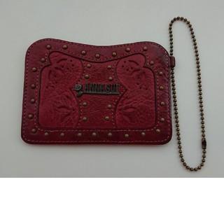 アナスイ(ANNA SUI)のANNASUI Cutting Leather Pass Case(パスケース/IDカードホルダー)
