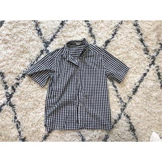 ジーユー(GU)のギンガムチェック シャツ(シャツ/ブラウス(半袖/袖なし))