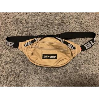シュプリーム(Supreme)の○専用○ Supreme waist bag 18 ss tan(ボディーバッグ)
