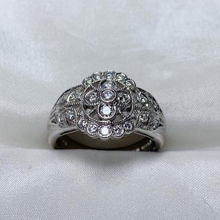 ポーラ(POLA)のPOLA プラチナ ダイヤモンド リング(リング(指輪))