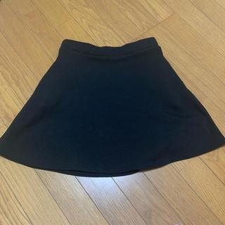 シマムラ(しまむら)のミニスカート 黒(ミニスカート)