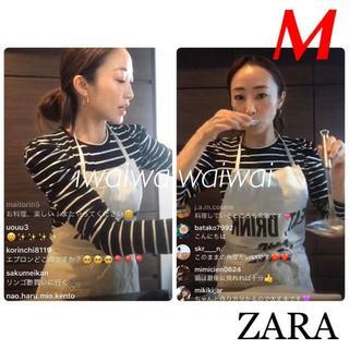 ザラ(ZARA)の新品 ZARA M パフショルダー トップス 神崎恵(Tシャツ(長袖/七分))