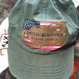 ラルフローレン(Ralph Lauren)のおてん様専用 キャップ 帽子 ビンテージ風ラルフローレン 新品未使用(キャップ)