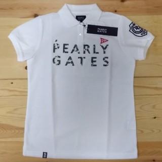 パーリーゲイツ(PEARLY GATES)のパーリーゲイツ カモ柄 ポロシャツ レディース2(ウエア)