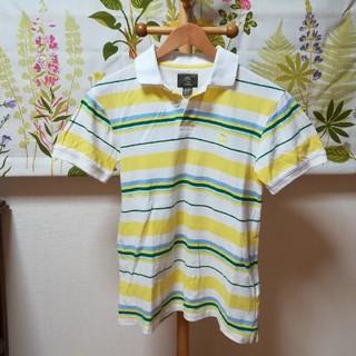 ティンバーランド(Timberland)の✨Timberland ティンバーランド カラフルボーダー柄のポロシャツSサイズ(ポロシャツ)