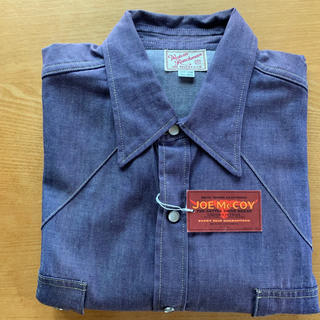 ザリアルマッコイズ(THE REAL McCOY'S)の美品♪ ジョーマッコイ ウエスタンシャツ(シャツ)