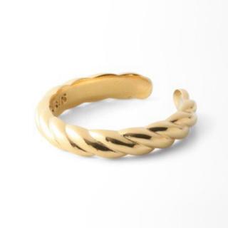 フィリップオーディベール(Philippe Audibert)のPHILIPPE AUDIBERT  braided リング ゴールド(リング(指輪))