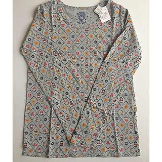 ラフ(rough)のrough インナーシャツ 長袖 マトリョシカ柄 新品未使用(シャツ/ブラウス(長袖/七分))