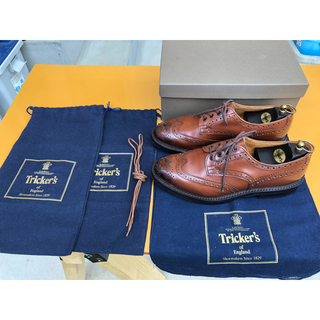 Trickers - Tricker`s トリッカーズ バートン 濃茶 UK9 美品