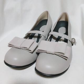 リゲッタ(Re:getA)の#5 リゲッタ 華奢見え3WAYリボンパンプス(ゆったりワイズ)(ローファー/革靴)