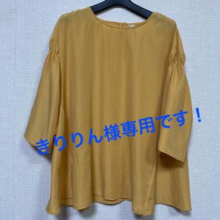 Golden Bear - 【美品】ゴールデンベア ブラウス⭐︎大きいサイズ LL  ペールオレンジ