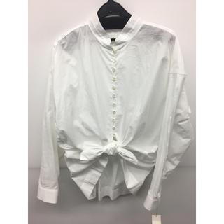 アナディス(d'un a' dix)のアナディス 白2wayシャツ 新品未使用タグ付き(シャツ/ブラウス(長袖/七分))