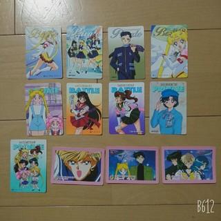 セーラームーン(セーラームーン)の【美品】美少女戦士セーラームーン カード 12種 当時物(カード)