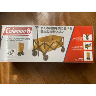 コールマン(Coleman)のコールマン アウトドア ワゴン キャリー カート coleman コヨーテ(その他)