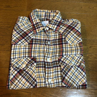 グッドイナフ(GOODENOUGH)のグッドイナフ チェックウエスタンシャツ 時しらず 初期 ネルシャツ (シャツ)
