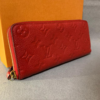 ルイヴィトン(LOUIS VUITTON)のほぼ未使用 ルイヴィトン アンプラント 長財布 ジッピーウォレット クレマンス (財布)