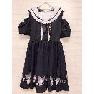 サンリオ(サンリオ)の新品 ドレス クロミちゃん セーラーワンピース サンリオ シフォンワンピース(ひざ丈ワンピース)