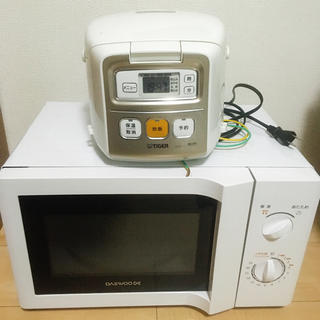TIGER - 割引中!Tiger 炊飯器 電子レンジセット!