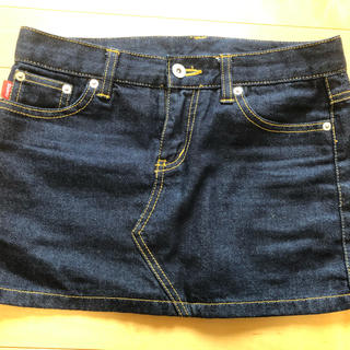 ステューシー(STUSSY)のステューシー  デニム ミニスカートSサイズ(ミニスカート)
