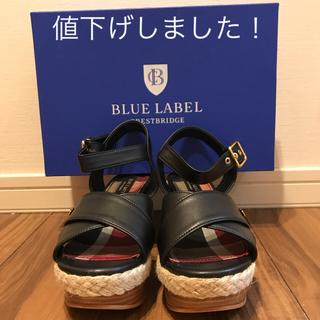 バーバリーブルーレーベル(BURBERRY BLUE LABEL)のバーバリーブルーレーベルサンダル(サンダル)