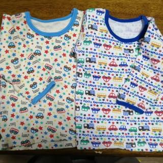 シマムラ(しまむら)の80cm 長袖 2枚セット 古着(Tシャツ)
