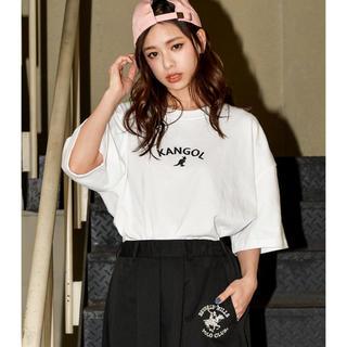 KANGOL - KANGOL シンプルアーチロゴ BIGTシャツ
