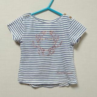 ザラ(ZARA)の新品 ZARA ザラ 半袖Tシャツ 86 ボーダー クラブ柄(Tシャツ)