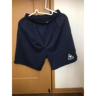ルコックスポルティフ(le coq sportif)のLE COQ SPORTIF ルコックハーフパンツ 紺色(ショートパンツ)
