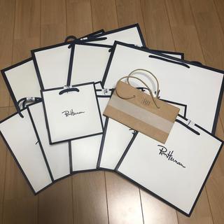 ロンハーマン(Ron Herman)のロンハーマン ショップ袋 11枚セット(ショップ袋)