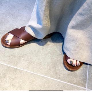 アパルトモンドゥーズィエムクラス(L'Appartement DEUXIEME CLASSE)のL'Appartement MICHEL VIVIEN Sandal 37(サンダル)