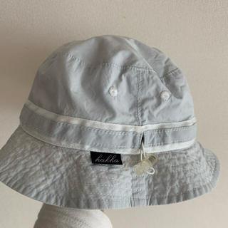 ハッカキッズ(hakka kids)のhakka帽子 48cm リバーシブル(帽子)